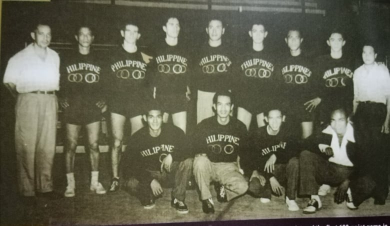 The PH national unit placed 12th during the 1948 London Olympics. In one game, the Nats shellacked Iraq, 102-30, to become the first team ever in Olympic history to hit the century mark. [Henry Liao photo]