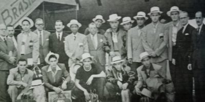 PH National Team that won the bronze in 1954 World Basketball in Rio de Janeiro. [Henry Liao photo]