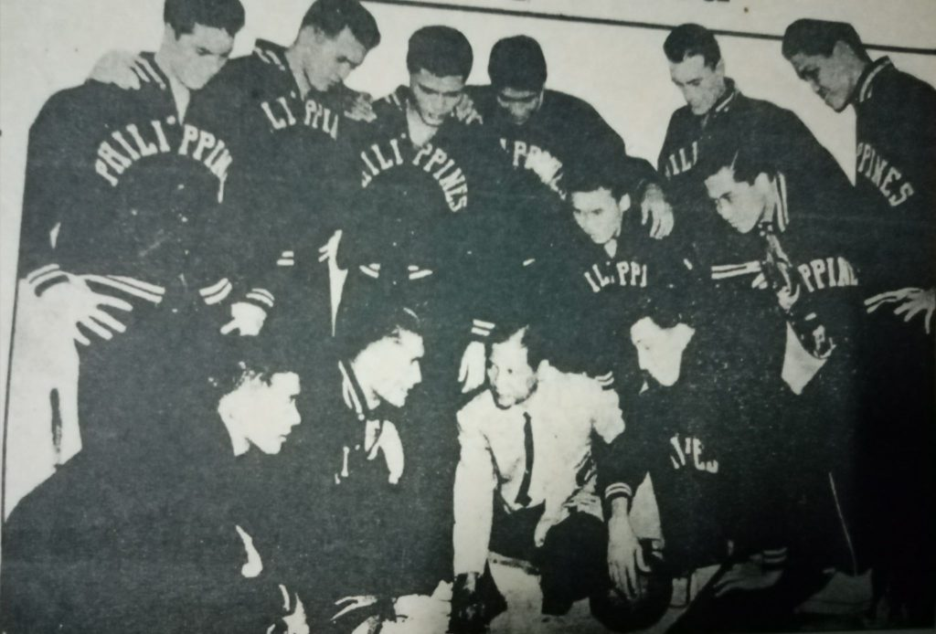 The 1954 Nationals that won the bronze medal in the 1954 World tournament. [Henry Liao photo]