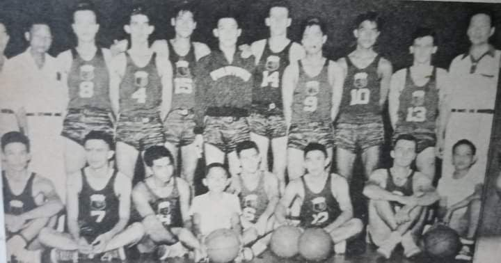 Coached by Herminio Silva, who also mentored the RP team that grabbed the bronze in the 1954 World Basketball Championship, the Philippines went unbeaten in six assignments in retaining the 1954 Asian Games title in Manila. [Henry Liao photo]