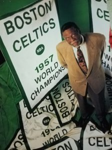 My G. O. A. T. Bill Russell won the first of his record 11 NBA titles with the Boston Celtics in 1957.
