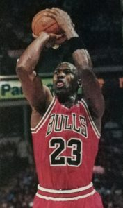 Michael Jordan is the choice of many hoop fans as NBA G O. A. T.. That, however, excludes this writer.