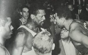 Russell and Chamberlain often exchanged words during the games with their competitiveness ....