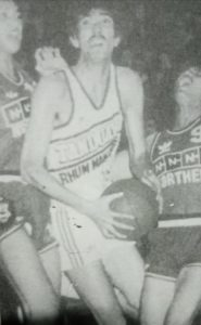 Mon Fernandez earned three PBA championships with Tanduay Rhum in 1986 and 1987.