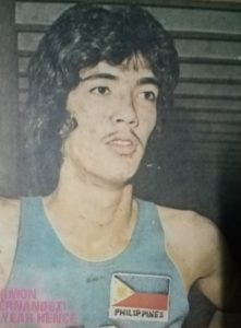 In 1974, Mon Fernandez represented the country in the FIBA World Championship in San Juan, Puerto Rico and Asian Games in Tehran, Iran.