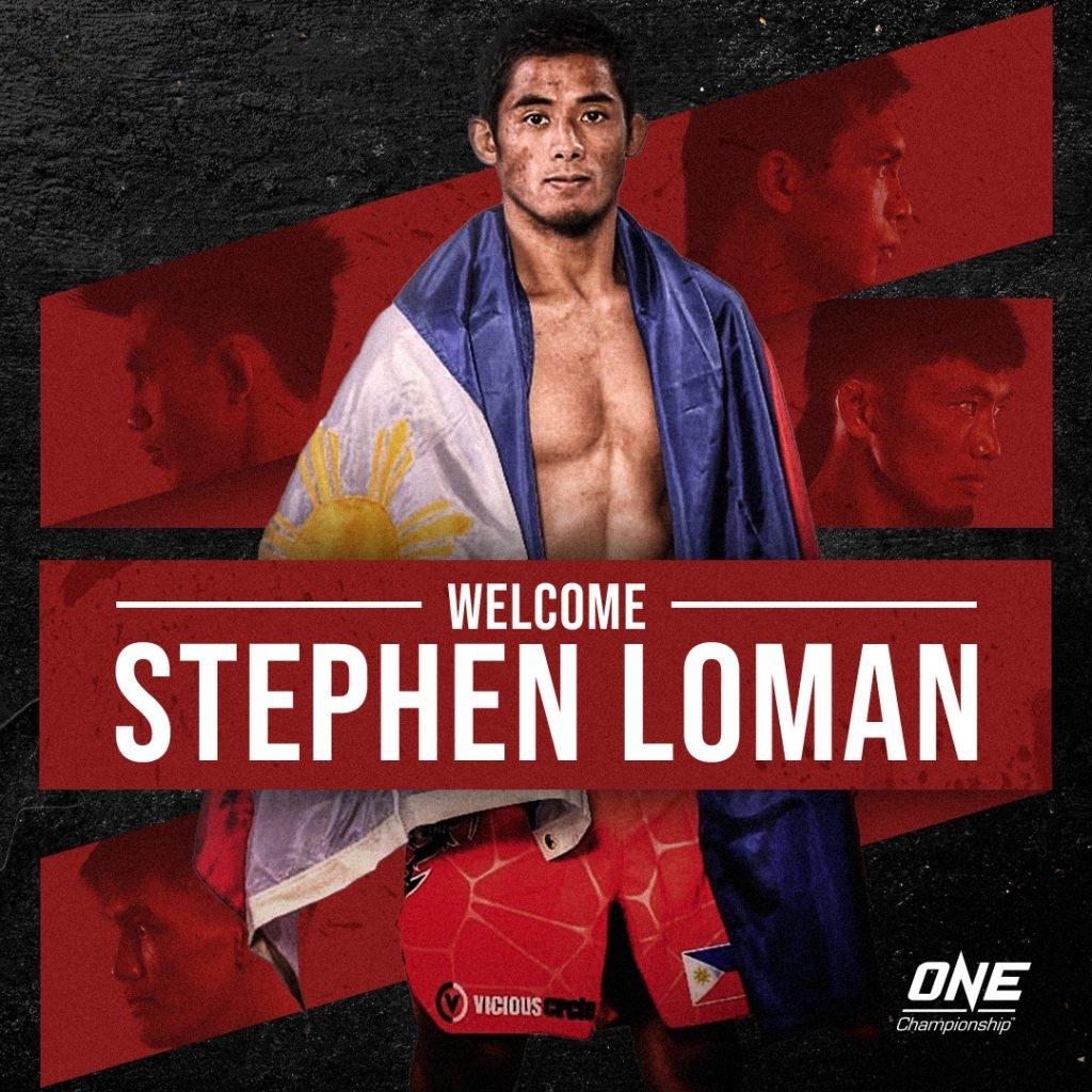 Stephen Loman [ONE Championship photo]