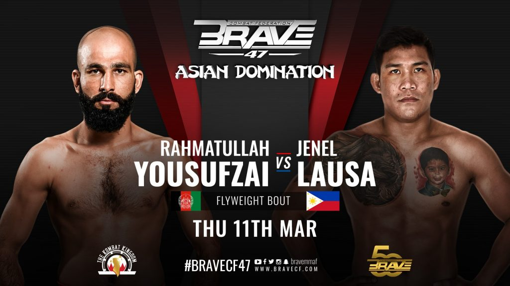 BRAVE CF 47: ASIAN DOMINATION - Lausa vs. Yousufzai