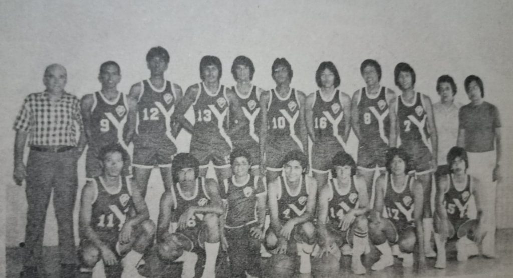 The Yco Painters beat the Manilabank Golden Bankers in the 1975 MICAA finals to capture their first title in 11 years.