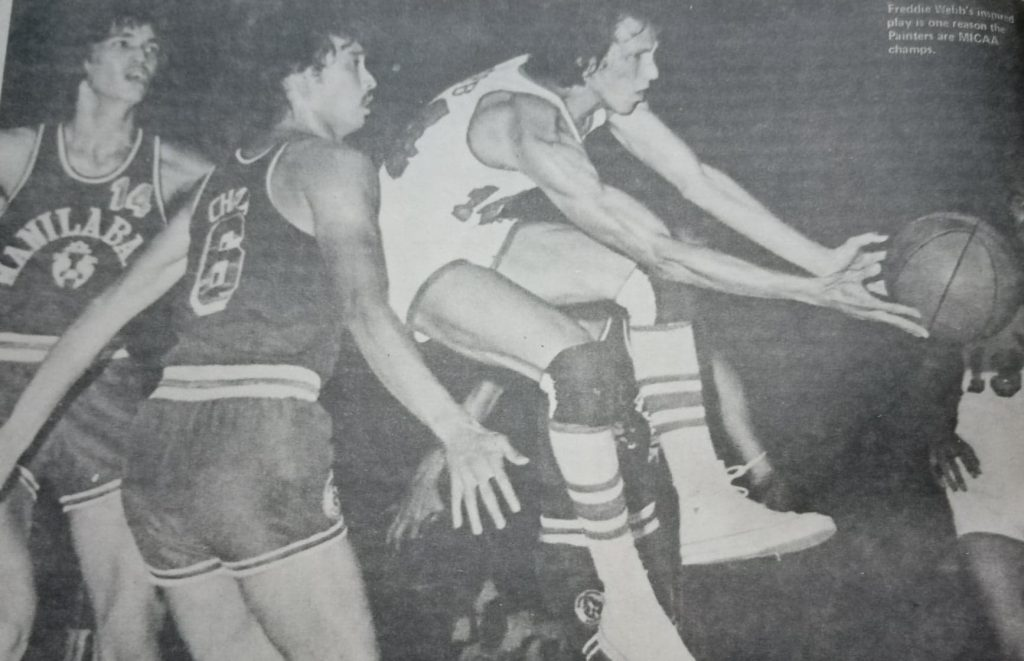 Munich Olympian Freddie Webb helped guide Yco to the MICAA title in 1975 and only joined the PBA the following year.