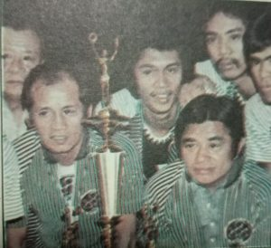 Virgilio (Baby) Dalupan and Crispa team owner Valeriano (Danny) Floro: Their partnership lasted for two decades.