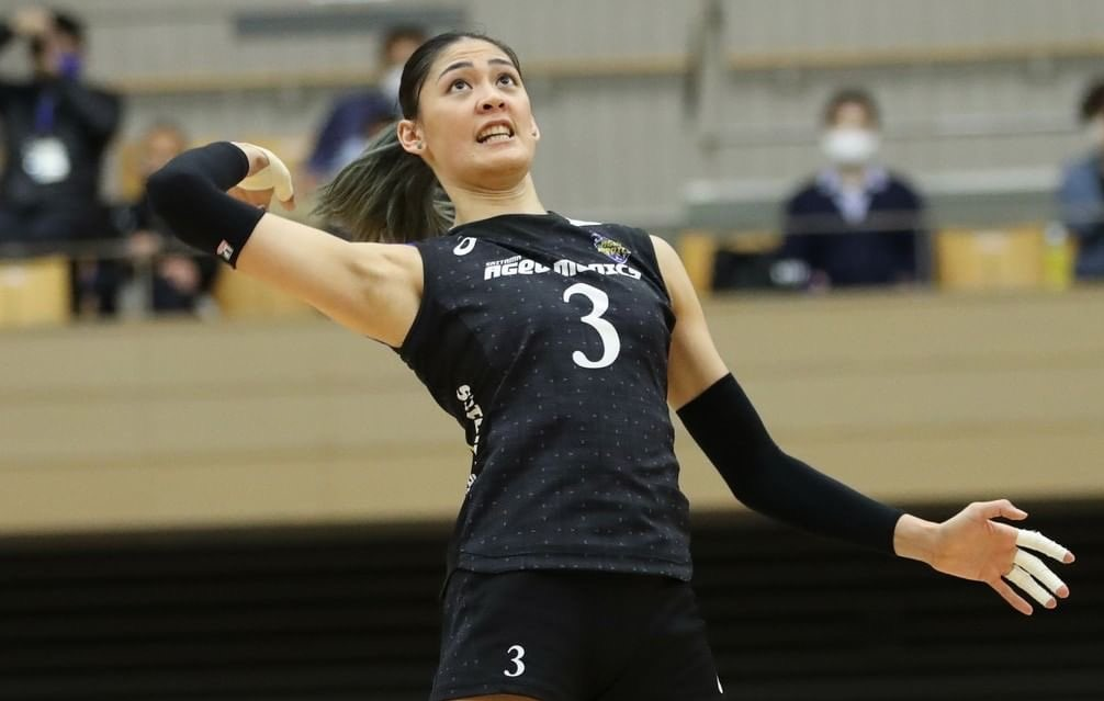 Jaja Santiago [Photo courtesy of Japan V.League]