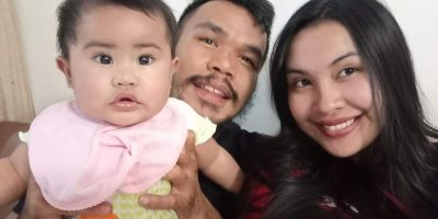 Roland Dy and family