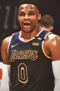 Russell Westbrook makes his Lakers debut against the Warriors on opening day of the NBA's 76th season.
