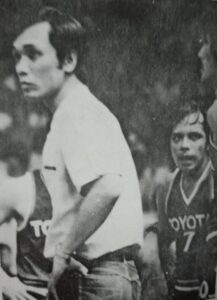 Acuna and Jaworski did not see eye-to-eye during the third (All-Filipino) Conference of the 1980 PBA wars.