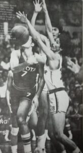 Jaworski: His first-half benching by Fort Acuna resulted in the latter's ouster as Toyota head coach during Game 3 of the 1980 PBA All-Filipino title playoffs.