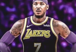 Carmelo Anthony: At age 37, the No. 12 all-time leading scorer in NBA history is the oldest player on the LAL roster.