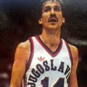 Hotshot Drazen Dalipagic was the WBC tournament MVP after leading the old Yugoslavia to the title.