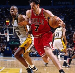 Toni Kukoc secured three straight NBA championships with the Chicago Bulls from 1996-98 and is still connected with the Windy City organization until now.