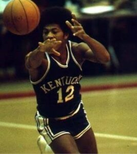 Larry Johnson was sent home by Team USA when the 6-3 guard was discovered to have played in the NBA with the Buffalo Braves.