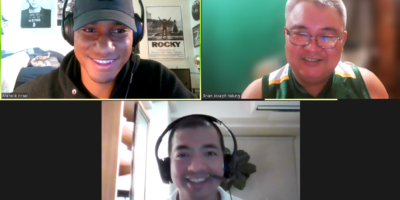 """Menelik """"Izzy"""" Israel recently guested on the Sports for All PH podcast hosted by Vincent Juico and Brian Yalung"""